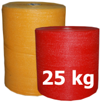Raschel Bags on rolls 25 kgs