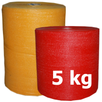 Raschel bags on rolls 5 kgs